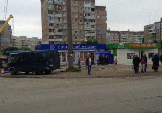 Соціальний магазин у Кіровограді