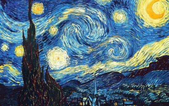 Звездная ночь - Винсент Ван-Гог