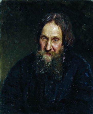 Портрет Василия Кирилловича Сютаева - Илья Репин