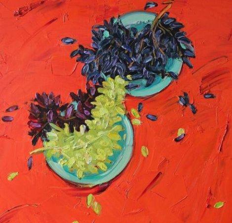Натюрморт с виноградом, автор - Ленур Велиляев