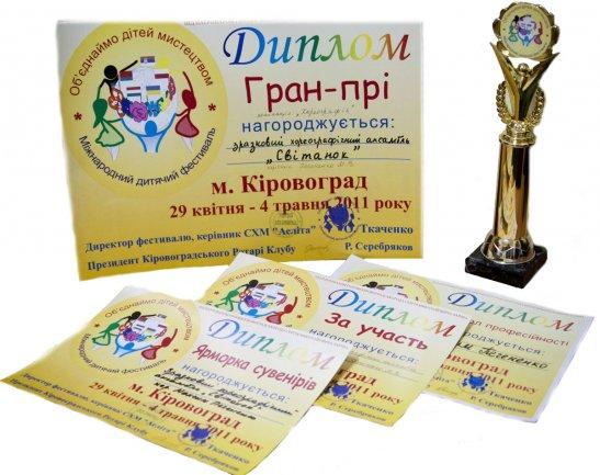 Дипломи 2011-го року