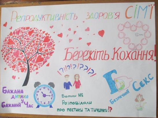 автор плакату - Нікольська Катерина