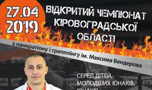 Відкритий чемпіонат Кіровоградської області з панкратіону та грепплінгу