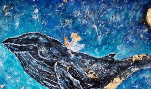 """Виставка картин Людмили Макей """"Квіти, люди, кити і коти"""""""