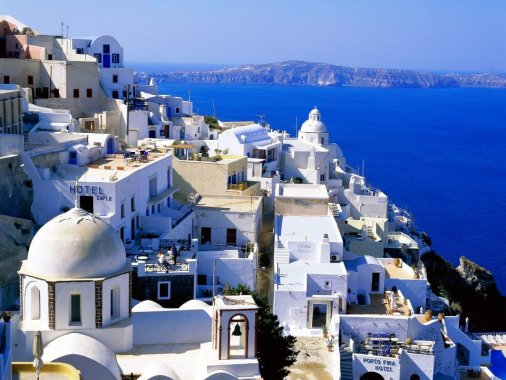 Как мир прекрасная она… Остров!.. Остров!.. Греция…