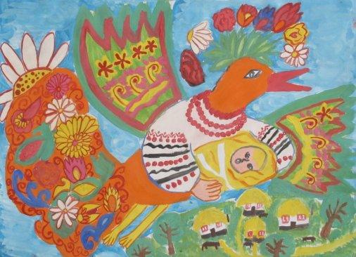Виставка малюнків «Казковий світ дитячих фантазій»