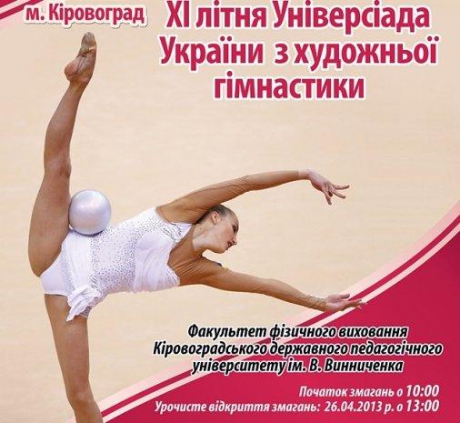 Свято краси та спорту: Універсіада з Художньої Гімнастики