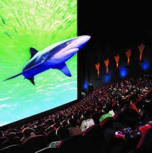 В Синем зале кинотеатра Портал новая уникальная 3D технология.
