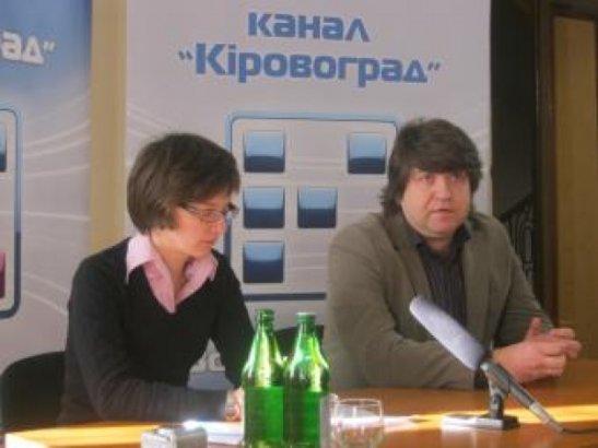 Олена Кваша та Вадим Мурований
