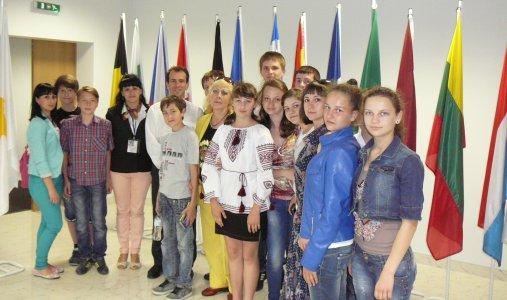 Кіровоградські діти поїхали у Представництво ЄС, і зустріли там Сергія Тігіпко