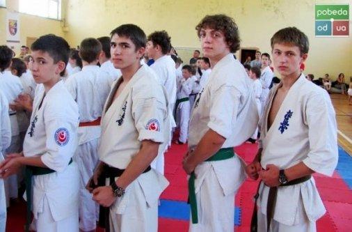 Юные одесские каратисты праздновали триумф в Кировограде