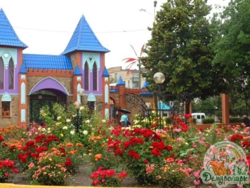 Трояндовий рай Дендропарку