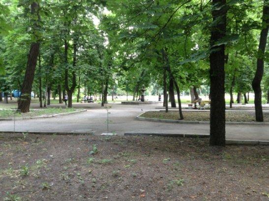 Фонтан в парке Ковалевский