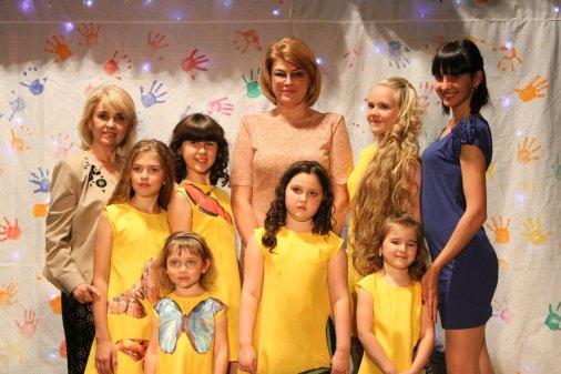 Имидж-центр «Ольга» принял участие в акции «Цветущий мир детства»
