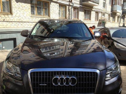 В Кировограде теперь моют машины... без воды!