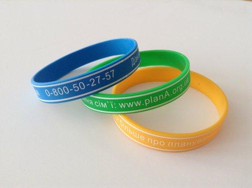 Синий, желтый или зеленый - выберите браслет на свой вкус!