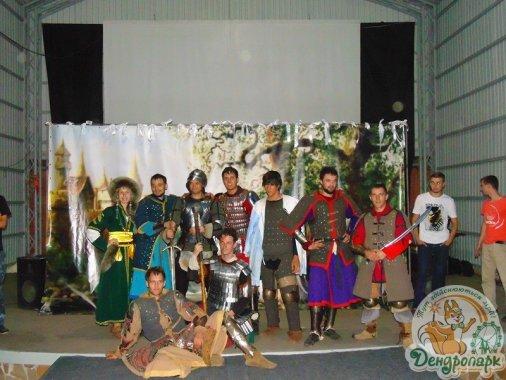 В Дендропарке сражались рыцари!