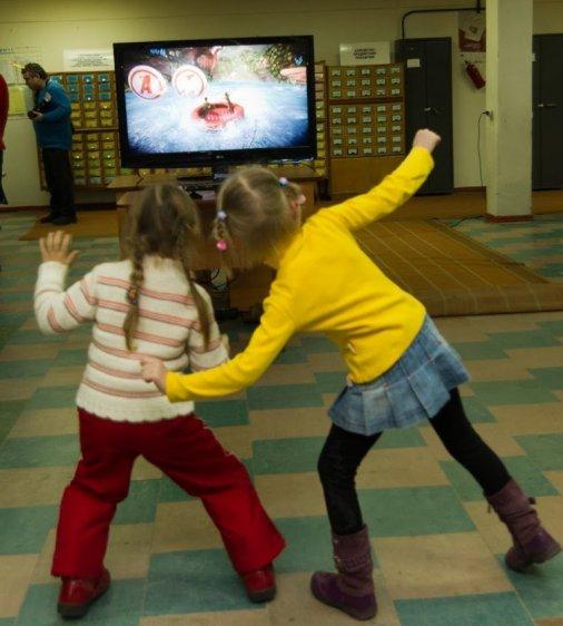 Kinect у бібліотеці