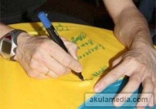 Кировоградцы могут написать слова поддержки биатлонистам