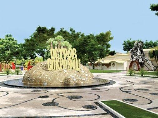 Не Парк Пушкина, но Остров Сокровищ