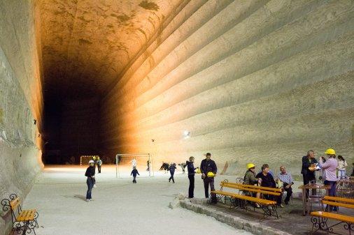 Соляная симфония - 288 метров под землей
