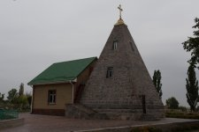 Пирамида в селе Комендантовка