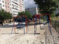 Площадка у нового дома в Кировограде