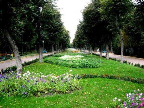 Осінній парк запрошує романтиків