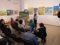 Тетяна Ткаченко відкриває виставку