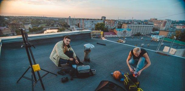 """Руслан Бабин делает фото для проекта """"Двигайся со вкусом!"""""""