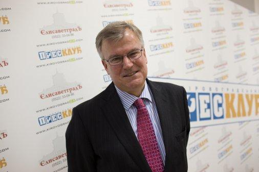 Посол Великої Британії Саймон Сміт: Кіровоград - по-справжньому міжнародне місто!