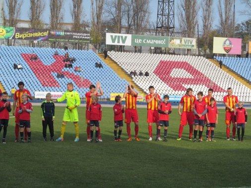 Футбол: Зірка  vs Нафтовик-Укрнафта - 2:1 (1:1)