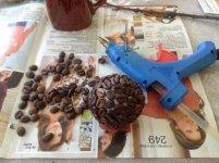 Начало работы над кофейным деревом