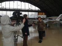 Ольга Кушнир дает интервью