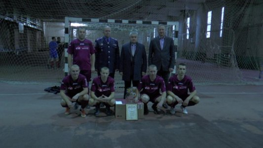Міліціонери грали у футбол