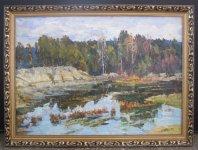 Сергій Шаповалов, 1943 Лісове озеро, 2008 62х87, полотно, олія, ціна - 7000