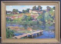 Анатолій Шаповалов, 1949 Тиха вода, 2011 45х65, полотно, олія ціна 7000
