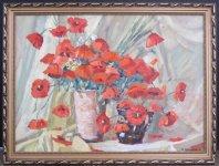 Юрій Вінтенко, 1955 Маки, 2010 50х70, картон, олія ціна 4000