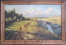 Володимир Плітін, 1956 р.н. Степовий простір, 2009 54х90, полотно, олія ціна 6000