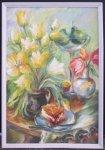 Марія Церна, 1944 р.н. Тюльпани, 2012 60х41, полотно, олія ціна 1500