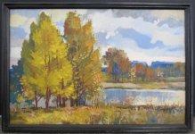 Фелікс Полонський, 1941 р.н. Пора осіння, 2010 52х82, полотно, олія ціна 5000