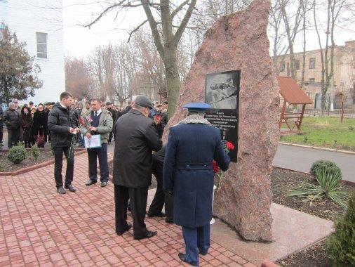 Кировоградская лётная академия НАУ почтила память освободителей Кировоградщины