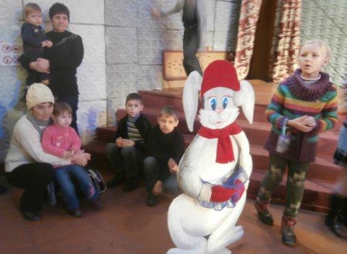 Зачарований дарунок - для кіровоградських діток