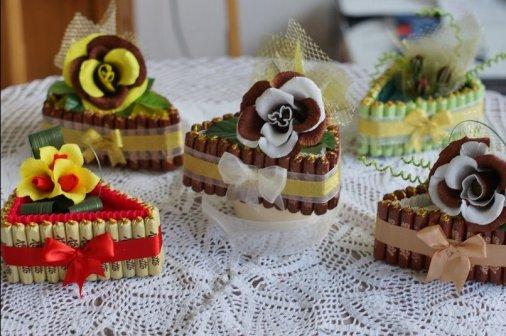 Тортик... Из конфет