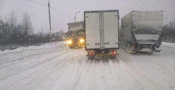 До уваги водіїв: Несприятливі погодні умови!