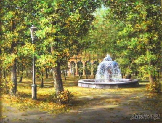 картина Євгена Семічова - Ковалівський парк