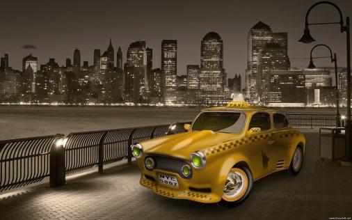 На такси в булочную?!
