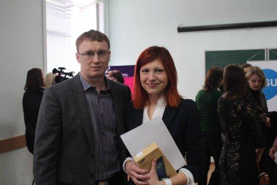 Андрій Табалов та Оксана Шиманович