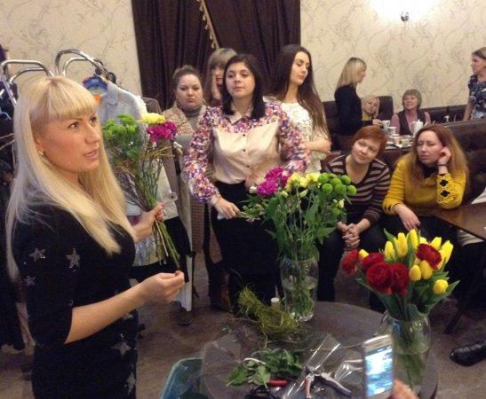 Флорист Елена Федоренко