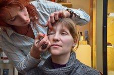 Елена Дрщанская ведет мастер-класс (фото - Елена Карпенко)
